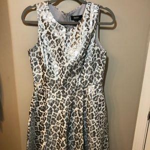 Silver Cheetah Dress